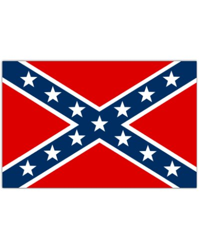 Army of Tennessee Battle Flag high gloss sticker