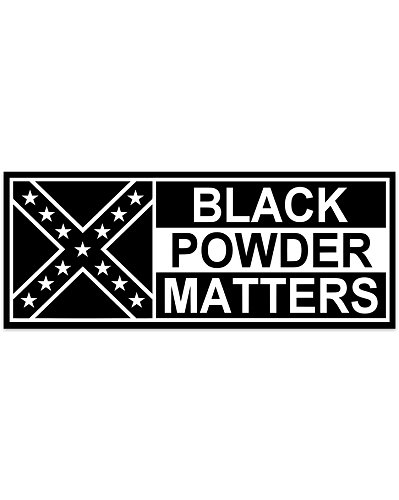 Black Powder Matters car magnet