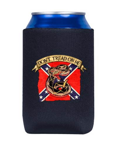 Confederate Don't Tread On Me can cooler