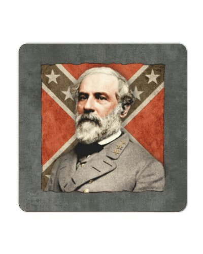 Confederate Leaders premium coasters (4 pack)