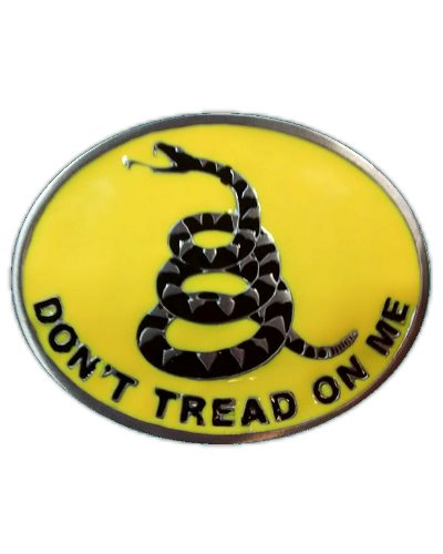 Gadsden Dont Tread On Me belt buckle