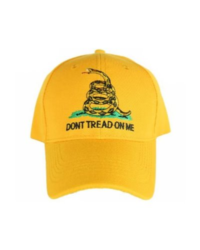 Gadsden Don't Tread on Me embroidered cap