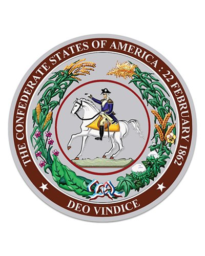 Great Seal of the Confederacy coasters (4 pack)