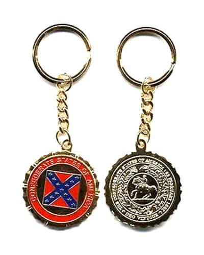 Great Seal of the Confederacy key ring