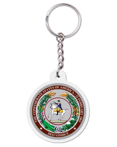 Great Seal of the Confederacy acrylic key ring