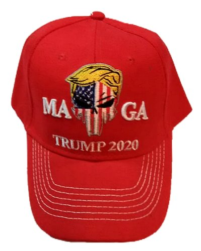 MAGA Punisher Trump 2020 embroidered cap