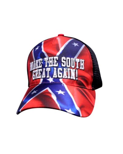 Make the South Great Again embroidered trucker cap