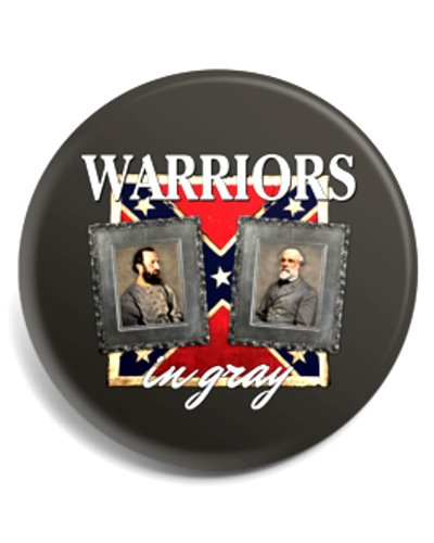 Warriors in Gray button